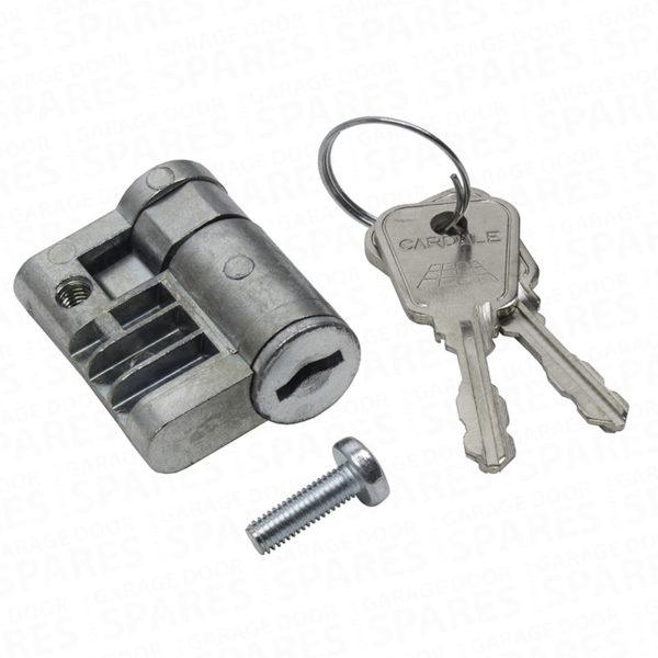 Genuine Cardale Eurolock Barrel and Keys (Old Design) AZSP 1209