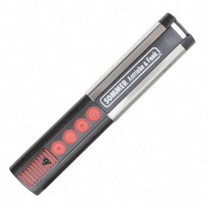 Stainless Steel 868.3MHz Four Channel Slimline Handset
