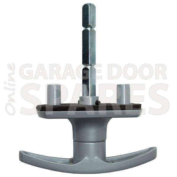 Garage door handle DLB to suit Henderson