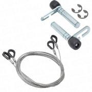 Garador Garage Repair Kit Cables/Circlip Type Roller Spindle