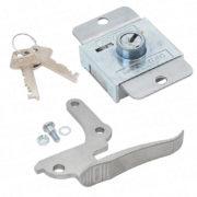 Pattern Handle and Pin/ZA Cabinet lock